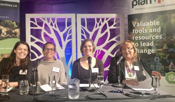 Shannon Clarke, PJ Naylor, Ame-Lia Tamburrini, and Judy Brownoff.