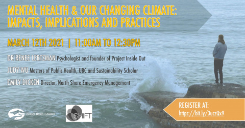 Mental Health and Our Changing Climate Event