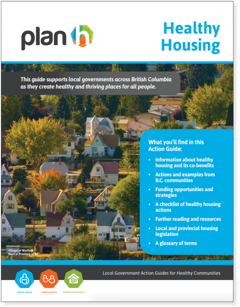 The cover of the Healthy Housing Action Guide