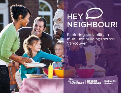"Cover of ""Hey Neighbour!"" report"