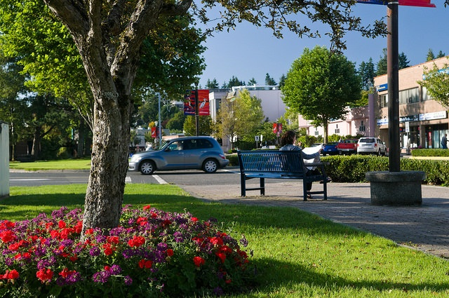A view of downtown Campbell River.