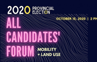 2020 Provincial Elections in BC Moving in a Livable Region All Candidates Forum